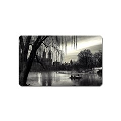 Central Park, New York Name Card Sticker Magnet