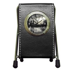 Central Park, New York Stationery Holder Clock