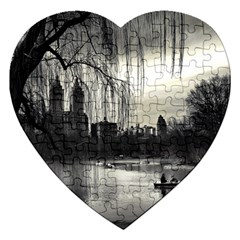 Central Park, New York Jigsaw Puzzle (Heart)
