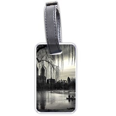 Central Park, New York Single-sided Luggage Tag