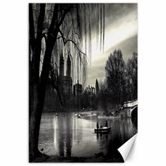 Central Park, New York 12  x 18  Unframed Canvas Print