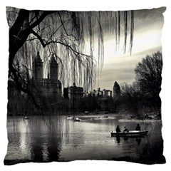 Central Park, New York Large Cushion Case (Two Sides)