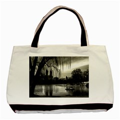 Central Park, New York Twin-sided Black Tote Bag