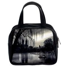 Central Park, New York Twin-sided Satchel Handbag