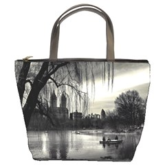 Central Park, New York Bucket Handbag