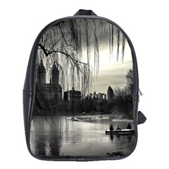 Central Park, New York School Bag (XL)