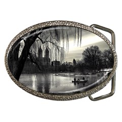 Central Park, New York Belt Buckle (Oval)