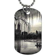 Central Park, New York Single-sided Dog Tag