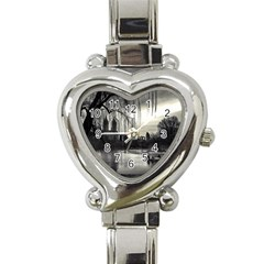 Central Park, New York Classic Elegant Ladies Watch (Heart)
