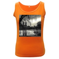 Central Park, New York Dark Colored Womens'' Tank Top