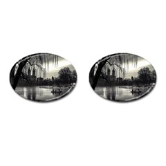 Central Park, New York Oval Cuff Links