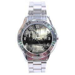 Central Park, New York Stainless Steel Analogue Watch (Round)