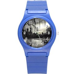 Central Park, New York Round Plastic Sport Watch Small