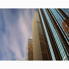 Skyscrapers, New York 12  x 16  Unframed Canvas Print