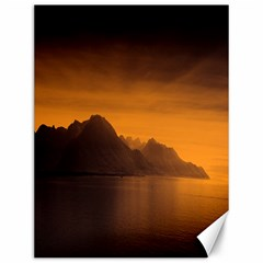 Waterscape, Switzerland 12  X 16  Unframed Canvas Print