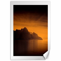 Waterscape, Switzerland 20  X 30  Unframed Canvas Print