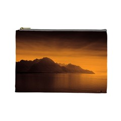 Waterscape, Switzerland Large Makeup Purse