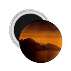 Waterscape, Switzerland Regular Magnet (Round)