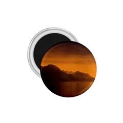 Waterscape, Switzerland Small Magnet (Round)