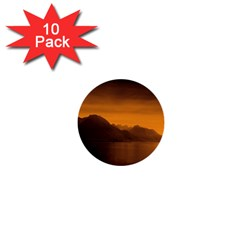 Waterscape, Switzerland 10 Pack Mini Button (round)