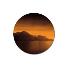 Waterscape, Switzerland Large Sticker Magnet (Round)