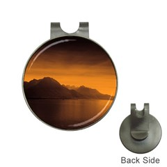 Waterscape, Switzerland Hat Clip with Golf Ball Marker