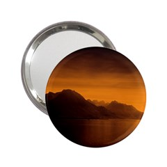Waterscape, Switzerland Handbag Mirror