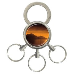 Waterscape, Switzerland 3-Ring Key Chain