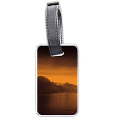 Waterscape, Switzerland Twin Sided Luggage Tag