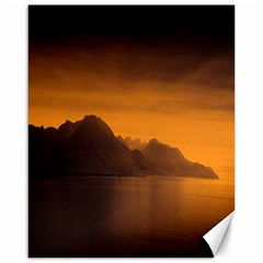 Waterscape, Switzerland 16  x 20  Unframed Canvas Print