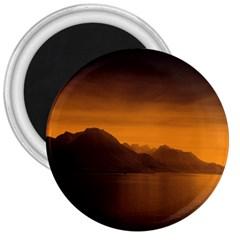 Waterscape, Switzerland Large Magnet (Round)