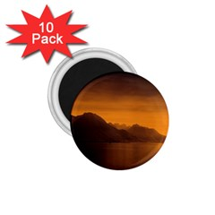 Waterscape, Switzerland 10 Pack Small Magnet (Round)