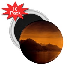 Waterscape, Switzerland 10 Pack Regular Magnet (round)