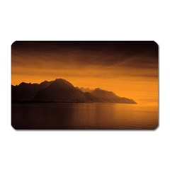 Waterscape, Switzerland Large Sticker Magnet (Rectangle)