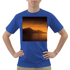 Waterscape, Switzerland Colored Mens'' T Shirt