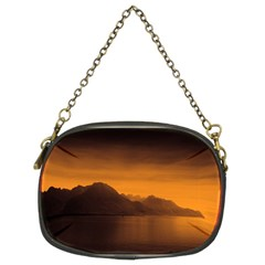 Waterscape, Switzerland Twin-sided Evening Purse