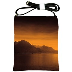 Waterscape, Switzerland Cross Shoulder Sling Bag