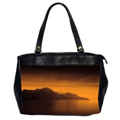 Waterscape, Switzerland Twin Sided Oversized Handbag