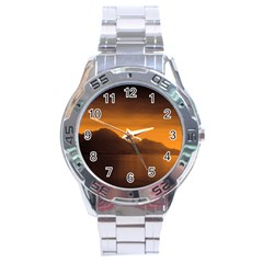 Waterscape, Switzerland Stainless Steel Analogue Watch (round)