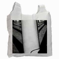 lines Twin-sided Reusable Shopping Bag