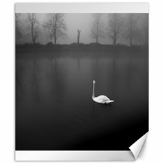 Swan 20  X 24  Unframed Canvas Print
