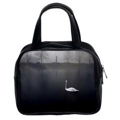 swan Twin-sided Satchel Handbag