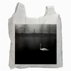 Swan Twin Sided Reusable Shopping Bag