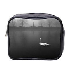 Swan Twin Sided Cosmetic Case