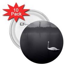 Swan 10 Pack Regular Button (round)
