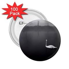 swan 100 Pack Regular Button (Round)