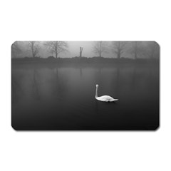 swan Large Sticker Magnet (Rectangle)