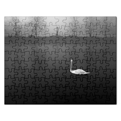 swan Jigsaw Puzzle (Rectangle)