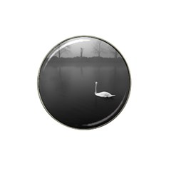 Swan Golf Ball Marker (for Hat Clip)