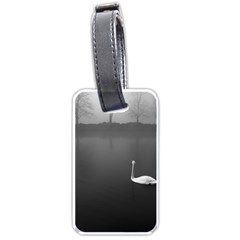 swan Twin-sided Luggage Tag